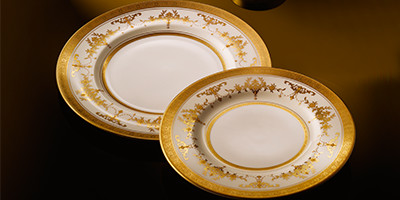 Gold Dinnerware
